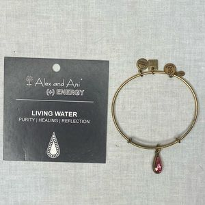 ALEX AND ANI BRACELET LIVING WATER PINK GOLD